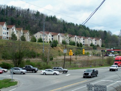 Boone, NC Commercial Real Estate Tract At Stoplight Intersection On Highway 105