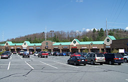 Boone NC commercial real estate strip mall
