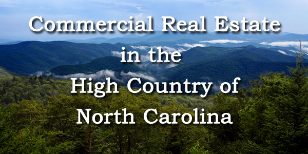 Commercial real esate in the High Country